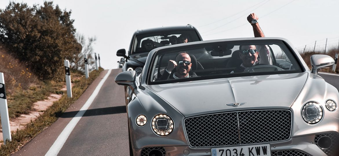Breitling and Bentley experience